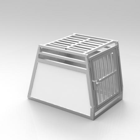 A14A - Caisse de transport simple - plafond en alu et 2 aérations latérales