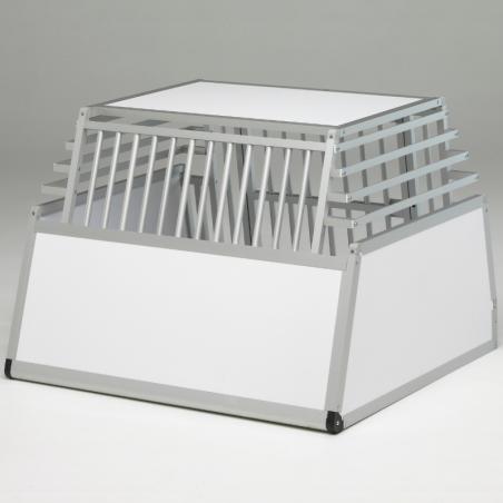 Caisse de transport Large Confort+ pour 1 à 2 chiens - plafond pvc, parois biseautées