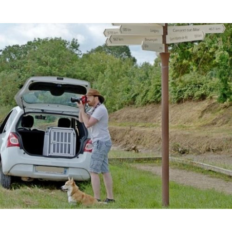 DIBARO - Rando avec son chien - Renault Twingo DIBARO par Braveur®