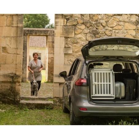 DIBARO - Caisse de transport pour chien idéale pour partir en voyage en voiture - Opel Zafira