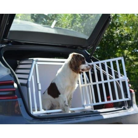 DIBARO LARGE  - Caisse de transport pour chien de taille M - Springer Spaniel - Porsche Macan
