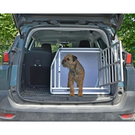 DIBARO LARGE - Caisse de transport pour petit chien - Peugeot 5008 - DIBARO par Braveur®