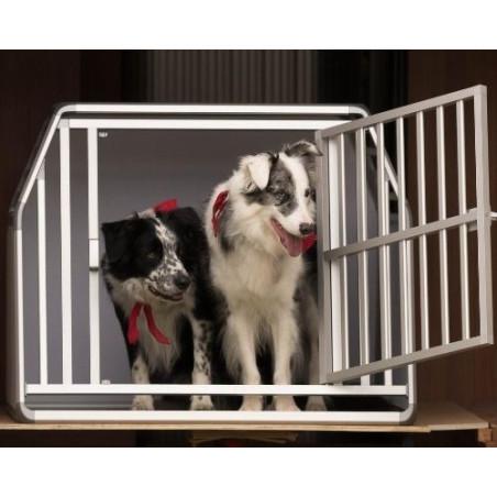 DIBARO LARGE - Caisse de transport pour 2 chiens de taille M race border collie - DIBARO par Braveur®