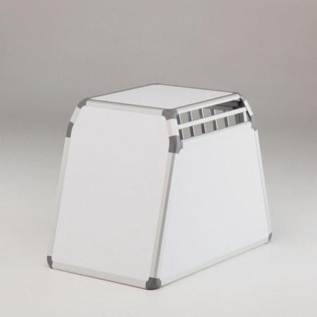DIBARO SIMPLE - Caisse de transport pour chien en PVC et en ALU  - DIBARO Braveur®
