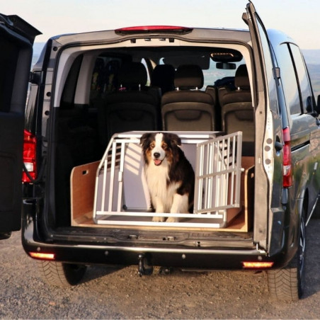 DIBARO LARGE - Caisse de transport pour chien L : Berger Australien - Mercedes Vito