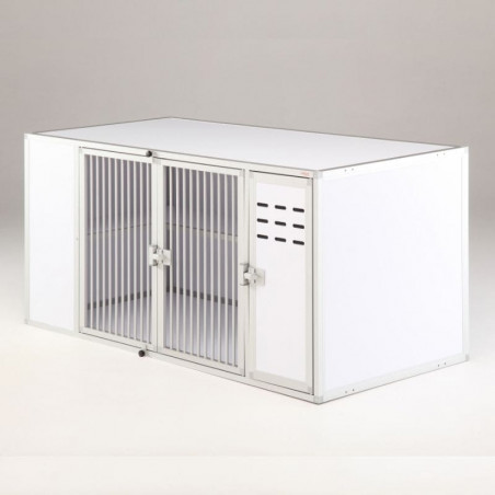 Module Pension Chat - fabriqué en aluminium et PVC - Braveur®