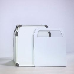 Caisse de transport en Aluminium pour chien avec hublot arrière DIBARO