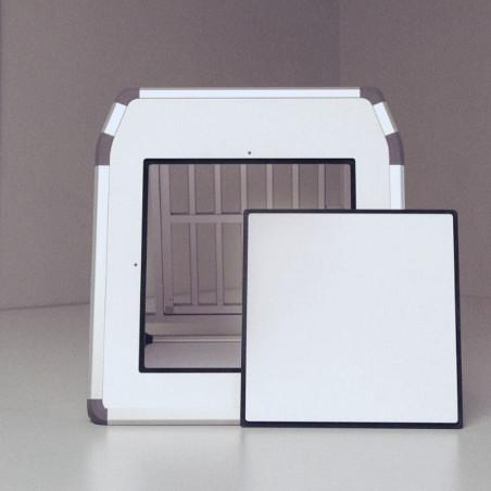 Option Trappe d'extraction pour cage de transport DIBARO Simple