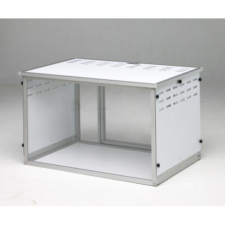Caisse d'exposition féline pliante Braveur® - cage exposition chat