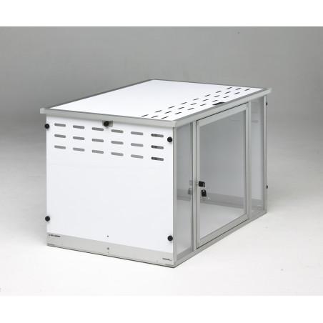 Caisse d'exposition félin pliante Braveur® - cage pour chat