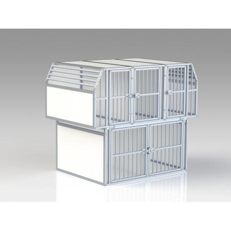 Aménagement véhicule utilitaire avec 5 Compartiments canin - Braveur®