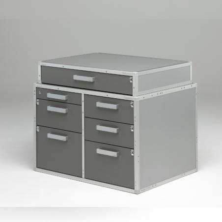 Rangement additionnel : 7ème tiroir pour pharmacie voiture vétérinaire Braveur®