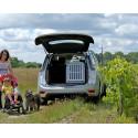 DIB423 - Caisse de transport pour grand chien L & XL - Race Springer Spaniel- DIBARO par Braveur®