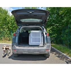 DIB412 - Caisse de transport pour chien de taille moyenne M/L - DIBARO par Braveur®