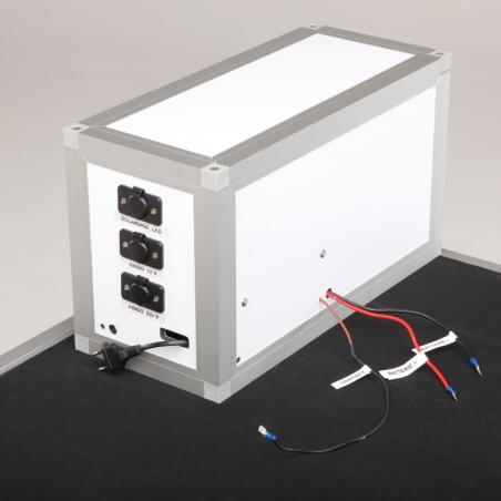 Coffret électrique pour véhicule professionnel pharmacie vétérinaire Braveur®