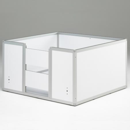 Caisse de mise bas Braveur® PRO 3 panneaux amovibles