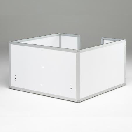 Caisse de mise bas Braveur® - Pvc blanc et Aluminium anodisé
