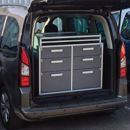 Pharmacie de voiture vétérinaire - format maxi pour véhicule utilitaire