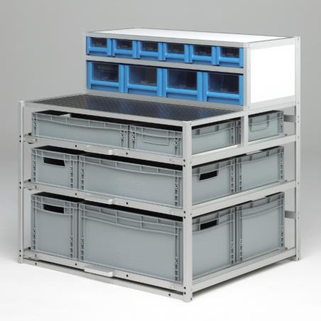 Meuble Craft® pour véhicule utilitaire avec 5 niveaux de rangement